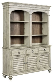 Kincaid Weatherford Hastings Open Hutch and Buffet Cornsilk Finish