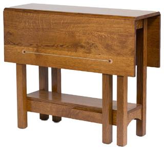 "Standard Finish Renwick 36"" Gate leg Table Michaels Rustic Cherry"