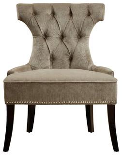 Right 2 Home Elizabeth Platinum Dining Chair