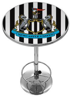 Premier League Newcastle United Chrome Pub Table