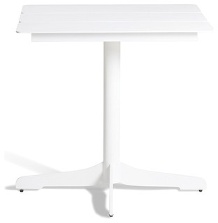 CERU 70 Dining Table Frame: Anthtacite Top Top: Aluminum Anthtacite