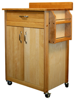 Cuisine Cart With Back Splash & Galley