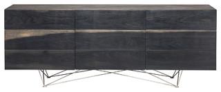 Zola Cabinet Ebonized Oak