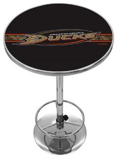 NHL Chrome Pub Table Anaheim Ducks