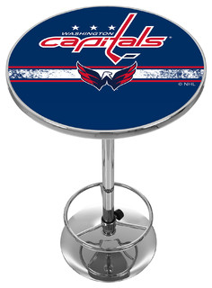 NHL Chrome Pub Table Washington Capitals