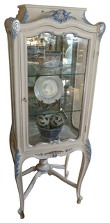 Martedi Carved Curio Cabinet