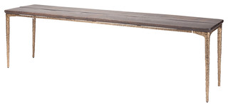 Kulu Dining Bench Bronze