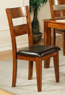 GO400SK Mango Side Chair Light Oak