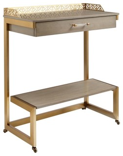 Stanley Coastal Living Oasis Catalina Bar Cart Gray Birch 527-61-08