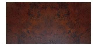 Rectangular Copper Table Tops Rustic Patina 48