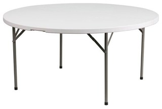 "60"" Round Granite Folding Table"