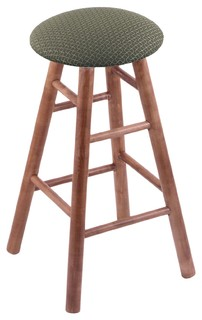Maple Round Cushion Extra Tall Bar Stool Smooth Legs Medium Axis Grove Seat