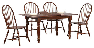 Dining Table With 4 Spindleback Chairs