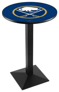 "Modern Buffalo Sabres Game Room Table Black Wrinkle 28""x36"""