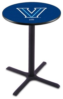 "Classic Black Base Villanova Wildcats Pub Table 28""x36"""