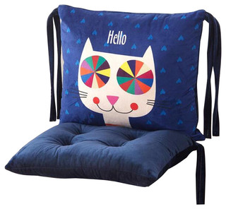 Fashion Strap Chair-Pads Cartoon Detachable Chair Cushions