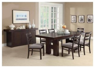 Coaster 5-Piece Dining Set Cappuccino