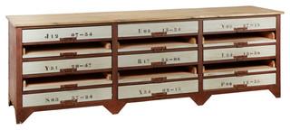 Autumn-Elle Designs Marlis Industrial Sideboard 15-Drawer