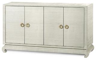 Bungalow 5 Meredith 4-Door Cabinet Natural