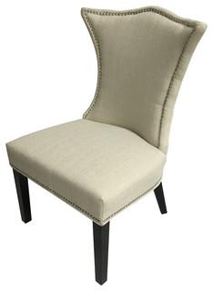 Linda Chair Ivory Stallion Linen