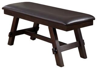 Liberty Furniture Lawson Bench Light/Dark Expresso