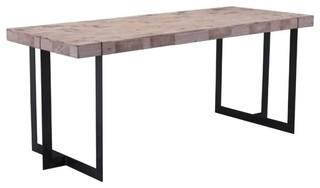 Brika Home Dining Table Natural Pine