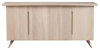 Copeland Furniture Axis Buffet Soaped Ash