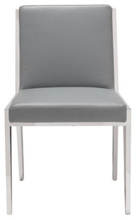 Zuo Modern Kylo 100334 Dining Chair Gray
