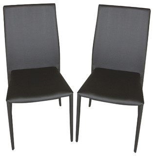 Dc-13 Dining Chair Set of 4 Black