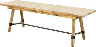 Hudson Bench Antique Small