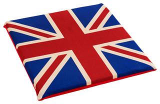 Cushion England Flat Square Chair Cushion
