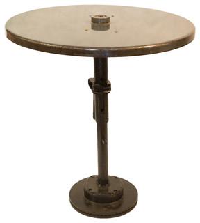 Reclaimed Industrial Bistro Table Dark Green