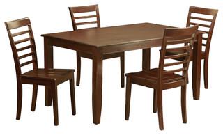 Duml5-Mah-W Dudley Dining Set