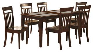 Cap5G-Cap-W Capri Dining Set
