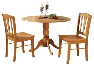 Dlin3-Oak-W Dublin Dining Set