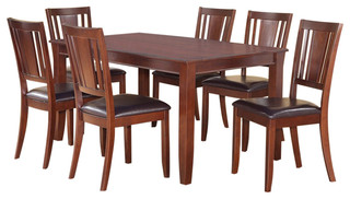 Dudl7-Mah-Lc Dudley Dining Set