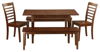 Noml5C-Mah-W Norfolk Dining Set