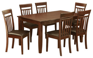 Duca7-Mah-Lc Dudley Dining Set