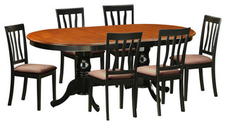 7-Piece Solid Wood Dining Set