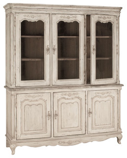 Chateau 3-Door Buffet Aged Gray
