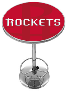 NBA Chrome Pub Table Fade Houston Rockets