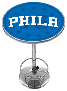 NBA Chrome Pub Table Fade Philadelphia 76ers
