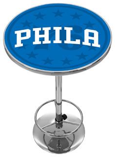 NBA Chrome Pub Table Fade Philadelphia 76ers