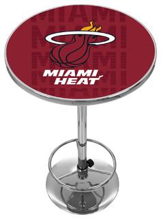 NBA Chrome Pub Table City Miami Heat