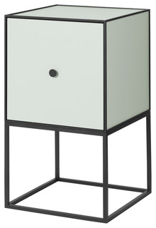 Frame 35 Sideboard With Shelf Pale Green Black