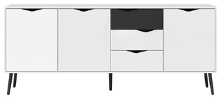 Diana Sideboard With 3 Doors and 3 Drawers