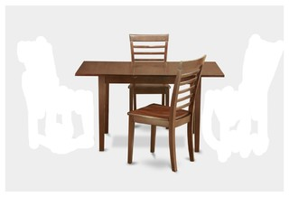 Noml3-Mah-W Norfolk Dining Set