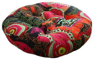 Comfortable Round Chair Cushion Sofa Seat Pad Floor Pillow Vintage Style