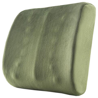 Home Chair Cushion Back Cushion Waist Support Green #33