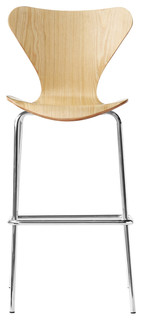 Fine Mod Imports Jays Bar Stool Natural